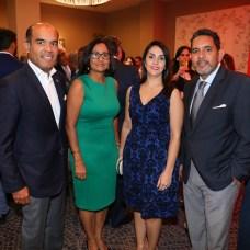 Víctor Rojas, Cecilia Méndez, Luany Rodríguez y Rafael Escotto