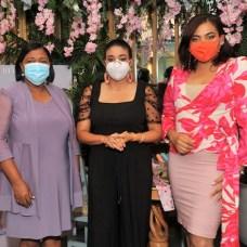 Cristina Liriano, Yakaira Suero y Amelia Reyes.