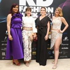 Melkis Díaz, Robin Bernstein, Carolina Mejía y Julia Bernstein