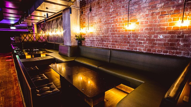 small booth and seating restaurant area at diesel bar and eatery melbourne