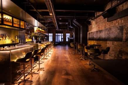 wooden floors of upstairs diesel bar in melbourne cbd