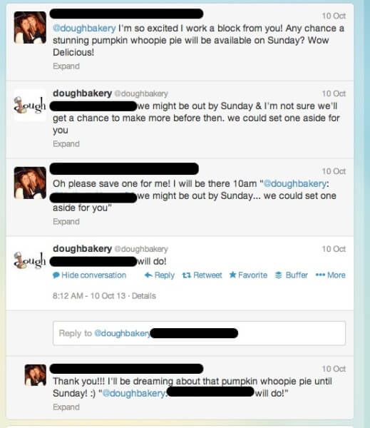 social media customer service on twitter