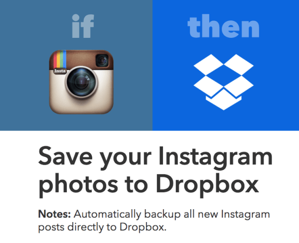 save your instagram photos to dropbox