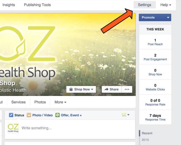 how to control visitor posts to your facebook page