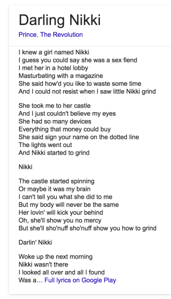prince darling nikke lyrics