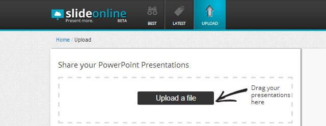 subir presentacion de powerpoint