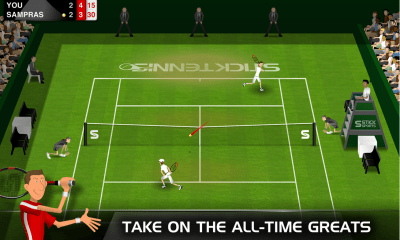 stick tennis juego android