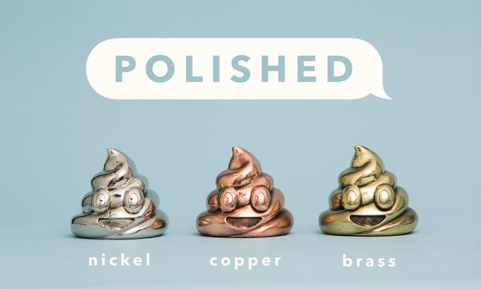 Emoji Poop escultura