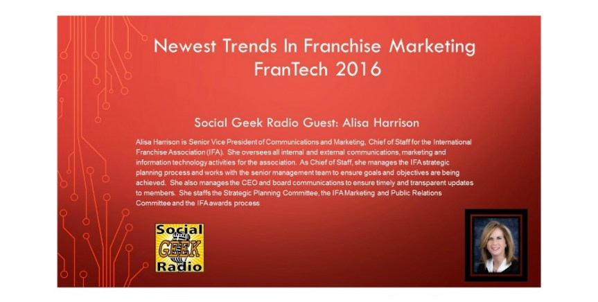 Newest Trends in Franchise Marketing