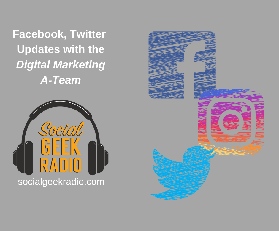 Facebook and Twitter Updates