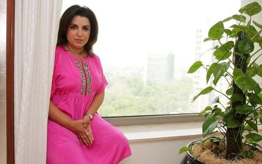 Bollywood Choreographer Farah Khan Profile Shoot