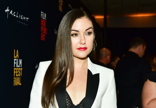 "Sasha Grey arrives at the 2018 LA Film Festival Gala screening of ""The Body"" at Writers Guild Theater."