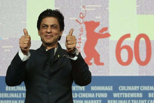 Actor Shah Rukh Khan attends the 'My Name Is Khan' Press Conference