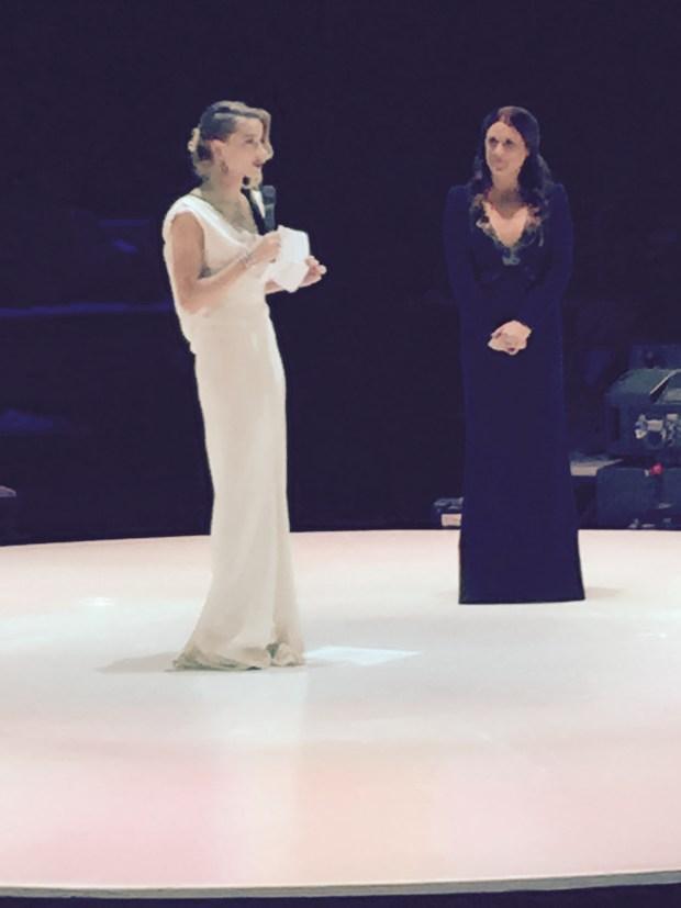 Amber Heard and Jennifer Howell