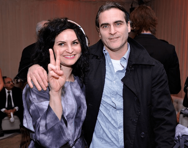 Rain and Joaquin Phoenix