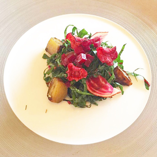 thyme-basted-beets-with-truffles-and-pine-syrup