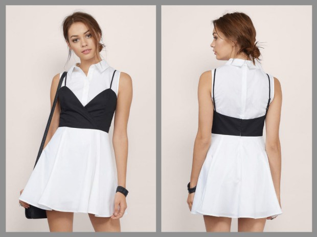white-black-straight-a-skater-dress1-2