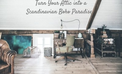 Turn Your Attic into a Scandinavian Boho Paradise