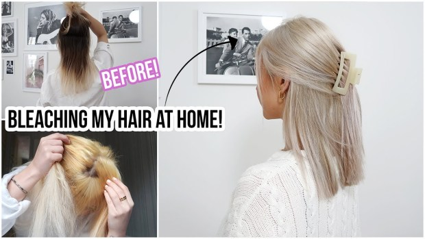 How To Go From Brunette To Blonde Without Messing It Up