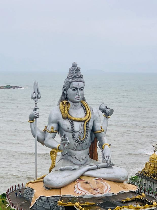 Stone Statue of Shiva
