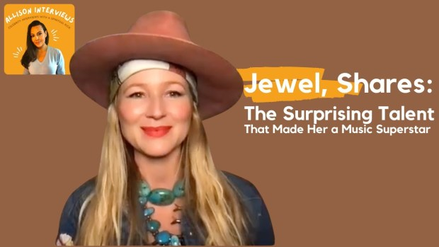 Jewel on the Surprising Talent That Made Her a Music Superstar