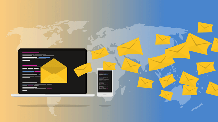advertising by using email marketing