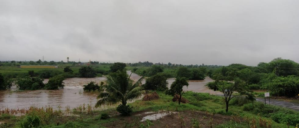 Four times heavy rain in Atpadi taluka