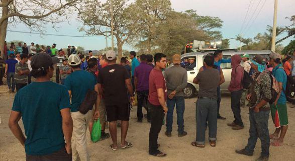 """Huelga de trabajadores de la caña en el Ingenio Taboga, exige """"derechos esenciales"""""""