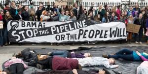 US-POLITICS-ENERGY-KEYSTONE-PROTEST