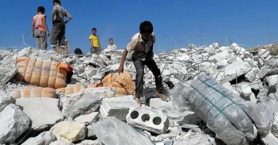 Aug. 2017 U.S. bombs Syria