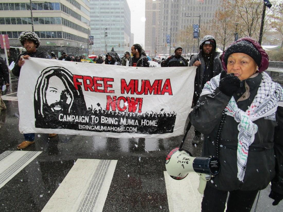 Jan. 2018 Mumia protest