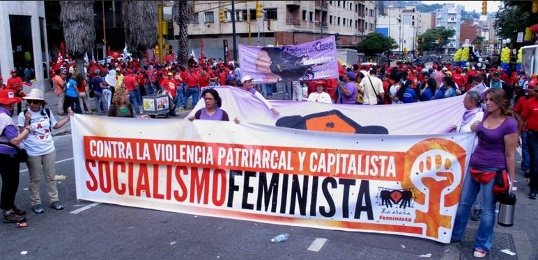 April 2018 Feminists Venez.