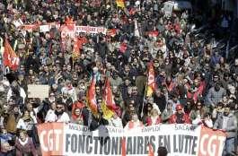 April 2018 France mass demo