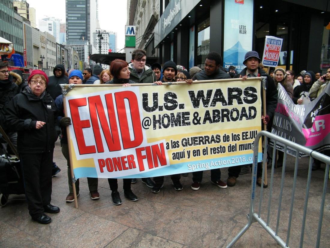 May 2018 Antiwar NYC John K