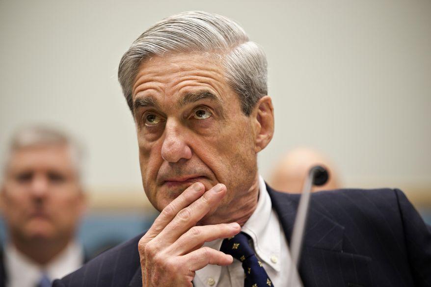 May 2018 Robert Mueller - Scott Applewhite:AP