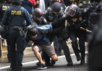 Aug. 2018 Portland arrest