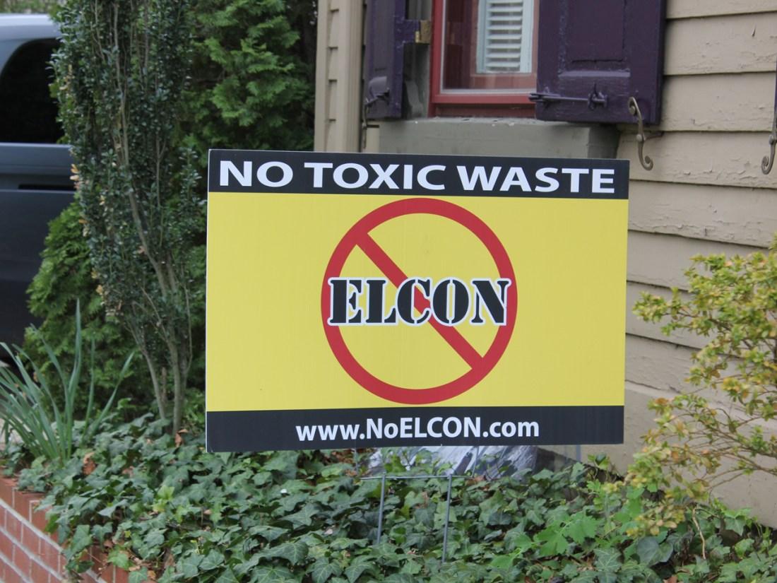 May 2019 Toxic waste