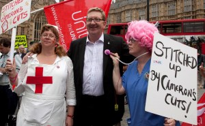 Len McCluskey isn't fond of Tories