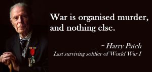 Harry Patch was there. Gove and Johnson wern't