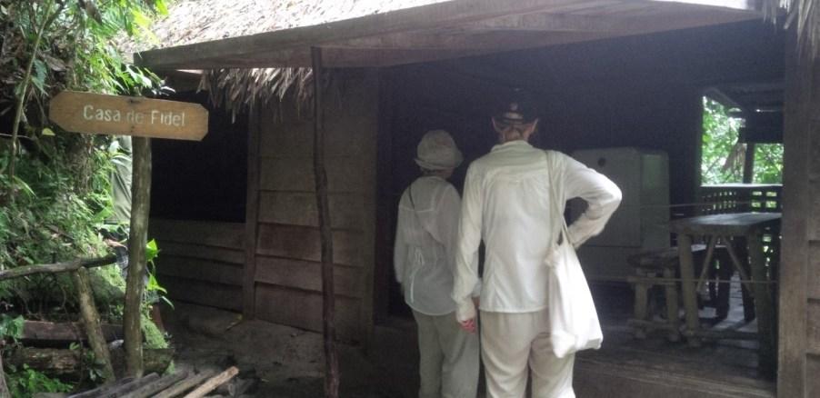 Fidel's living quarters sierra maestra
