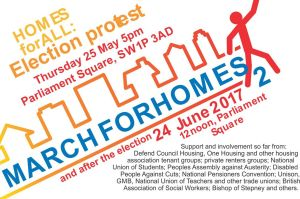 Homes for All @ Parliament Square