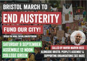 Bristol March: end austerity - fund our city! @ College Green