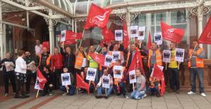 Rally for the Birmingham Bin Workers @ Victoria Square