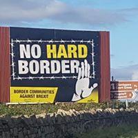 Ireland's British border and Brexit @ Oxford, Organic Cafe