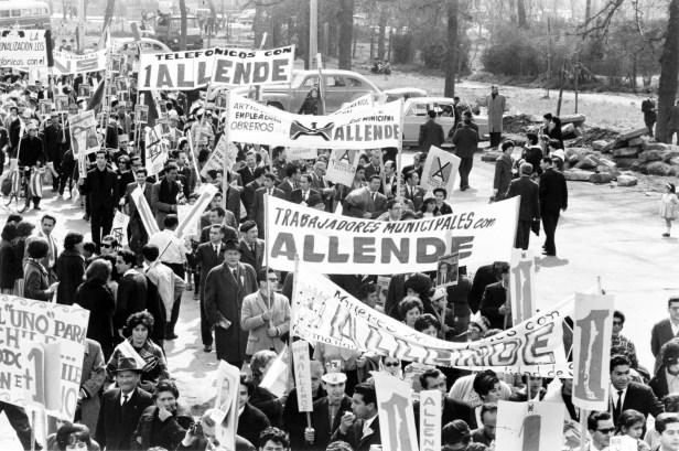 Nov. 2019 Allende supporters