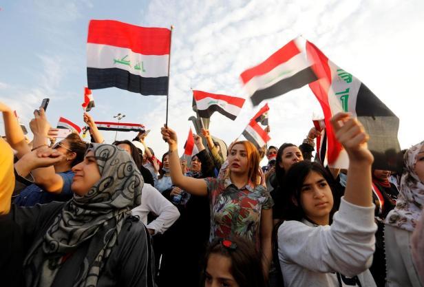 Mach 2020 Iraq protest