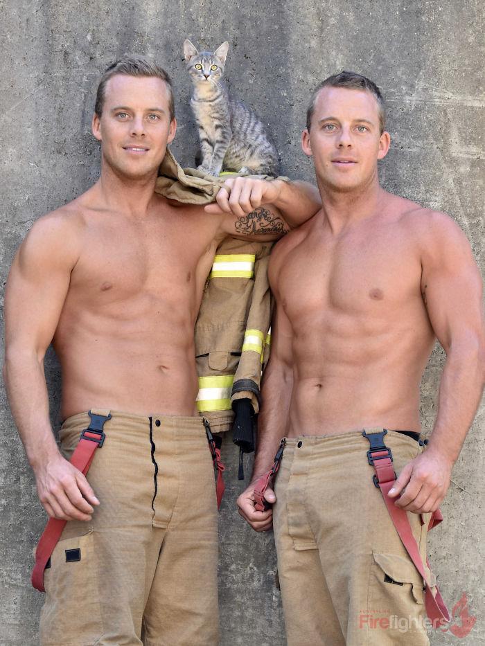The 2019 Australian Firefighters 'Animal Calendar'