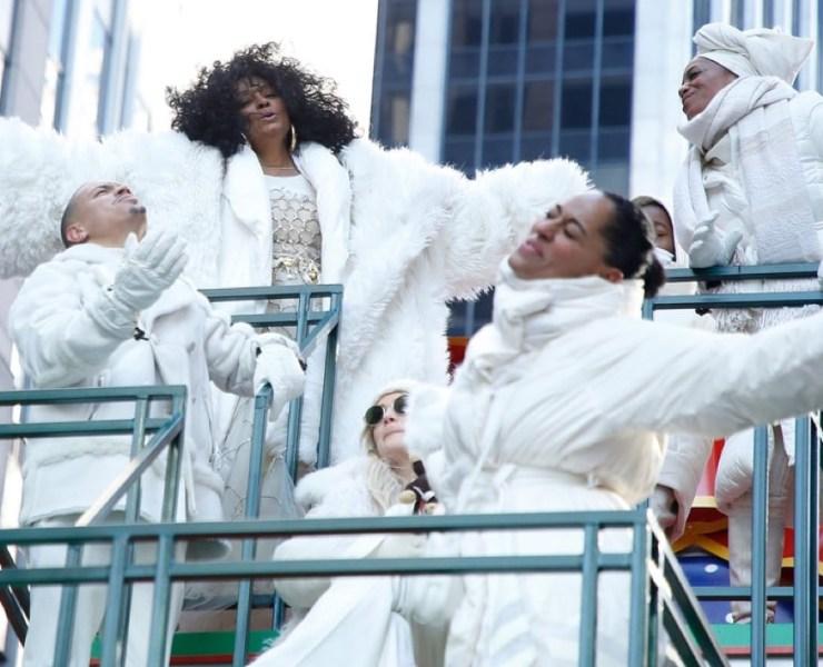 Diana Ross Macy's Thanksgiving Parade