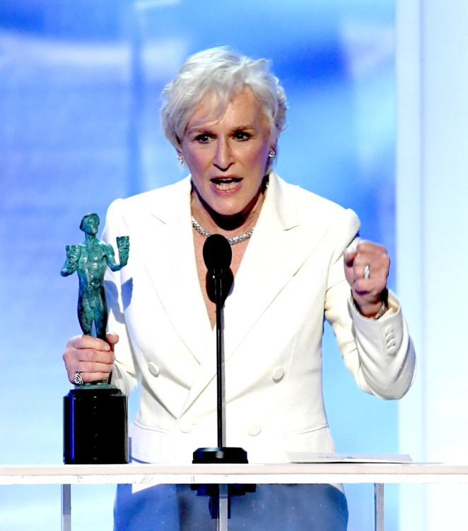 Glenn Close 25th Annual Screen Actors Guild Awards - Inside