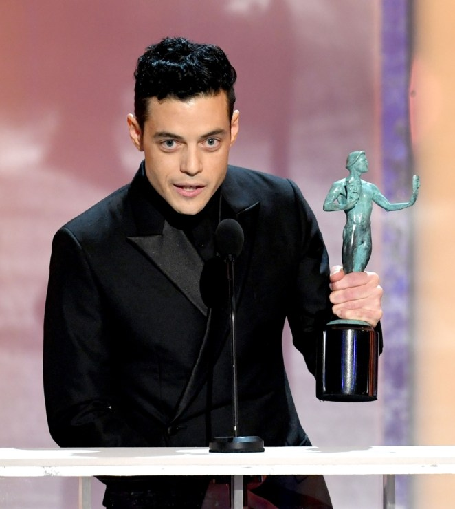 Rami Malek 25th Annual Screen Actors Guild Awards - Inside